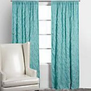 "Z Gallerie Accents - Two 84"" Z Gallerie Drapery Panels"